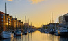 Copenhagen Sunset (Geoff Fagan) Tags: sunset sunshine sunlight sunsets sun harbour sea quay quayside boat orange reflection relaxation stillness sony sonyalpha