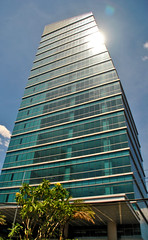 Menara Zuria (Ya, saya inBaliTimur (leaving)) Tags: jakarta building gedung architecture arsitektur office kantor