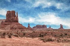 Monument Valley (sibnet2000) Tags: monumentvalley topazimpression canon6d arizona tamron2470