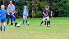 Kumeu, West Auckland, New Zealand (Sandy Austin) Tags: auckland panasoniclumixdmcfz70 sandyaustin westauckland kumeu northisland newzealand soccer kids grandson