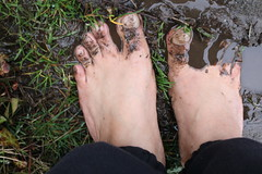IMG_1225 (bfe2012) Tags: barefoot barefeet barefooting barefooted barefooter barefoothiking barefootlifestyle feet dirtyfeet toughsoles