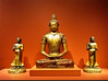 photo - The Buddha Amitayus (Jassy-50) Tags: photo sanfrancisco california asianartmuseum artmuseum museum art artwork antique buddha amitayus ancient orange statue sculpture