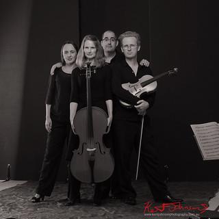 String Quartet, Studio Portrait.