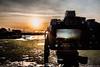 Tramonto di Lignano Sabbiadoro - Paesaggi nel Cielo - Dino Cristino (3) (Dino Cristino) Tags: dinocristino lignanosabbiadoro paesaggi paesaggistica nikonphoto nikon tramonto sunset skyscape contrasto propsettiva colori sole sfumature