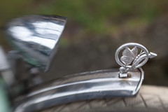 Front Mudguard on a Diamant Bicycle (suzanne~) Tags: bicycle bike detail diamant figure lensbaby mudguard munich sweet80 logo badge