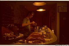 Antonio creating magic with tea (aurelitowtf) Tags: cajchai ishootfilm lomography lomoxpro200 lomolca tea te antoniomoreno barcelona