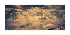 Winter's Breath (~Scimo~) Tags: hzd ps4 screenshot landscape snow mountain sky nebel fog