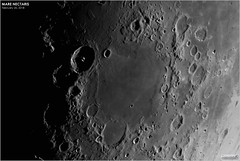 The Moon's Sea of Nectar (The Dark Side Observatory) Tags: tomwildoner night sky space outerspace skywatcher telescope esprit 120mm apo refractor celestron cgemdx asi190mc zwo astronomy astronomer science canon crater moon lunar weatherly pennsylvania observatory darksideobservatory leisurelyscientist leisurelyscientistcom tdsobservatory solarsystem luna nectaris marenectaris february 2018