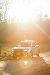 (RichardGlenSailors) Tags: subaru forester xt offroad gravel dirt sun sunset lens flare canon 7d north georgia