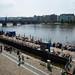 O Rio Vltava em Praga