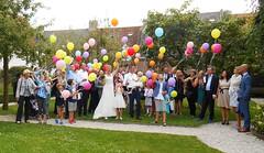 heliumballonnen bruiloft