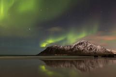 03C02_5D3_0811 (uzi yachin) Tags: 2017 lofoten norway 5dmark3 winter sea seashore beach landscape aurora skagsanden skagsandenbeach