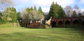 Terrace at  Staunton Country Park