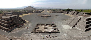 Teotihuacán -  panoramic view
