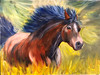 My Heart & Soul (♞Jenny♞) Tags: oilhorsepainting equineart cavalier jennygrimm strength motion power beauty