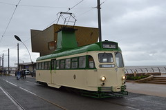 Blackpool Transport Brush Car 631 (Will Swain) Tags: blackpool 7th october 2017 tram trams light rail railway rails transport travel europe north west lancaster lancs coast sea coastal tramway brush car 631