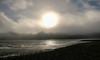 Bolinas Lagoon (San Francisco Gal) Tags: bolinaslagoon water fog pacificocean lagoon sun sky mudflat marincounty california