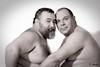 Duo et plus (Phoenix Blue Parangon) Tags: mâle man masculin duo duet bear ours monochrome portrait poilu hairy
