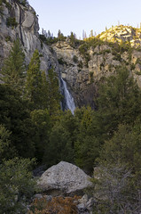 Bridalveil Falls View (rschnaible (Not posting but enjoying your posts)) Tags: yosemite national park us usa sierra nevada mountains outdoor hike hiking west western california bridalveil falls