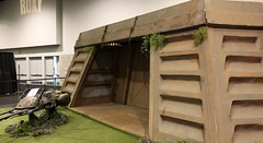 2015-Endor Bunker Set at Star Wars Celebration VII Anahiem-01 (David Cummings62) Tags: ca calif california con david dave cummings 2017 starwars movie movies starwarscelebrationvii anahem la set endor bunker display