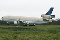 Untitled Mc Donnell Douglas MD-11F, N776ML. (Trevor Mulkerrins) Tags: untitled mc donnell douglas md11f n776ml 48776 saudi arabian airlines cargo