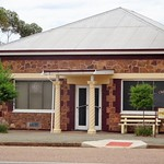Wilmington. The Country Womens' Association Club Rooms in the Main Street. Built in local stone in 1953. thumbnail