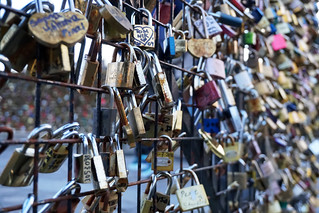 Love Locks at Pont Neuf