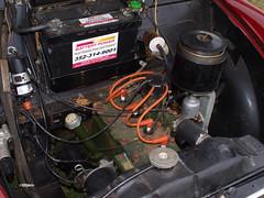 170218_003_MorrisMinor (AgentADQ) Tags: tractor fest paquette truck show historical farmall museum leesburg florida 2017 morris minor convertible car auto automobile