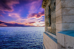 Au port de Nice (Nicolas Abassit Photographie) Tags: nikon nikond810 nice portdenice villedenice sunset frenchriviera