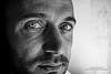 Portrait (Aminoacido70) Tags: nikond5500 nikon zulloamedeojr portrait ritratto face bw biaconero