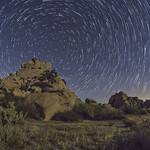 More Star Trails at San Diego's Valley of the Moon thumbnail