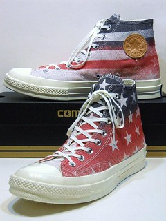 '70 Flag - Casino Red, Natural White & Midnight Navy Blue Hi 146971C