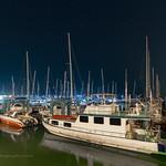 Night at Chalong pier, Phuket, Thailand thumbnail