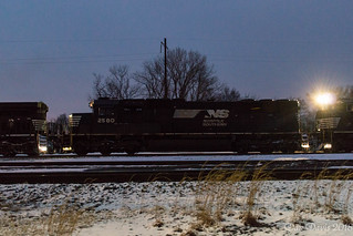 NS 2580 @ Morrisville, PA