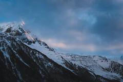 Aiguille Du Midi (Charlie Eddington) Tags: chamonix alps aiguilledumidi france mountain dusk
