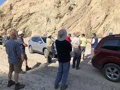 2018-02-15 GOPS Geology Hike (109) (MadeIn1953) Tags: 2018 201802 20180215 greatoutdoorsgo go gops greatoutdoorspalmspringsgops hiking california coachellavalley riversidecounty meccahills paintedcanyon laddercanyon geologywalk
