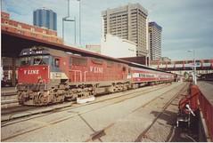 N463 Spencer St (tommyg1994) Tags: west coast railway wcr emd b t x a s n class vline warrnambool geelong b61 b65 t369 x41 s300 s311 s302 b76 a71 pcp bz acz bs brs excursion train australia victoria freight fa pco pcj