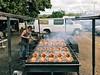 ray's kiawe broiled chicken. (howard-f) Tags: iphone iphoneography iphone7 iphone7plus hawaii oahu vsco vscocam vscogrid hawaiian northshoreoahu northshores haleiwa haleiwatown surftown chicken rayskiawebroiledchicken bbqchicken streetphotography hawaiianfood smokechickenbbq charcoal openpitbbq bbq chickendinner smokey