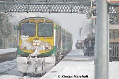 229 arrives at Portlaoise, 1/3/18 (hurricanemk1c) Tags: railways railway train trains irish rail irishrail iarnród éireann iarnródéireann portlaoise 2018 generalmotors gm emd 201 229 0900heustoncork