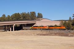 BNSF 9100 Monument 18 Feb 18 (AK Ween) Tags: bnsf bnsf9100 bnsf9131 emd sd70ace monument colorado jointline naturalgas lng train railroad