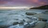 A touch of Pink (ianbrodie1) Tags: old hartley leefilters coast coastline lighthouse sunset longexposure rocks stones wave ocean sea seascape cloud colour sky