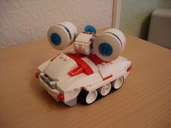 Syrena (Sirene) Sonic Wave Tank (Śląski Hutas) Tags: lego bricks moc poland polska futuristic scifi screech blaster