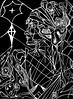 La Bellezza del Silenzio - Artist: Leon 47 ( Leon XLVII ) (leon 47) Tags: bellezza silenzio beauty silence leon 47 xlvii triangolismo triangulism enigma metafisica abstract portrait drawing metaphysical pittura metaphysics art surrealism surrealismo arte astratta minimalism minimalismo individualismo individualism individuality umanismo humanism giorgio de chirico arnold böcklin arthur schopenhauer friedrich nietzsche artwork sell by artist buy original sketching