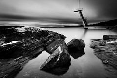 DSCF0487_bw (yann CM B) Tags: oslo fjord winter landscape blackandwhite blackwhitepassionaward blackdiamond fuji fixlens 14mm nd longexposure