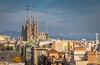 La Sagrada Familia across the roof tops (cee live) Tags: sagradafamilia barcelona spain cathedral rooftops