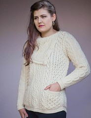 Sweater with heavy rollkragen (Mytwist) Tags: victorian trading co creamed honey irish knit sweater ullar ivory victoriantrading wool love passion donegal fisherman style fashion retro casual chunky aranstyle knitted cabled design pullover knitting modern heavy pattern turtleneck