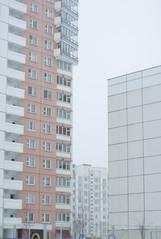 Minsk (ŽivilėZ) Tags: block minsk belarus urban eastern european winter grey sky snow