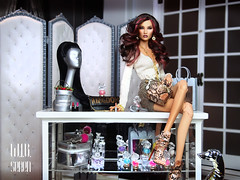 The girls loves to shop! (kingdomdoll) Tags: giftset seren weekendinbathgifset beauty cosmetics kingdomdoll kingdom doll demetae resinfashiondoll fashiondoll fashiondollquarterly