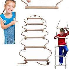 200 x 40cm Six Sticks Wooden Climbing Rope Ladder Holds Up 150kg Toys Swings For Children Swing Outdoor Indoor (1115451) #Banggood (SuperDeals.BG) Tags: superdeals banggood sports outdoor 200 x 40cm six sticks wooden climbing rope ladder holds up 150kg toys swings for children swing indoor 1115451
