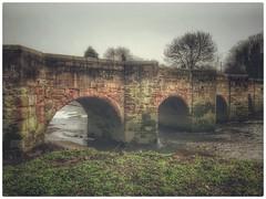Water Orton Bridge -  Minworth Rd, Water Orton, Birmingham B46 UK. (hussey411) Tags: amateur photographer photography photo iphonephotography iphone7plus iphone river old bridge waterorton birmingham uk